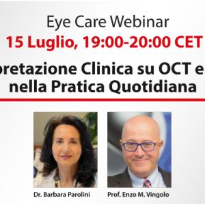 PRIMO WEBINAR CANON MEDICAL EYE CARE IN ITALIANO